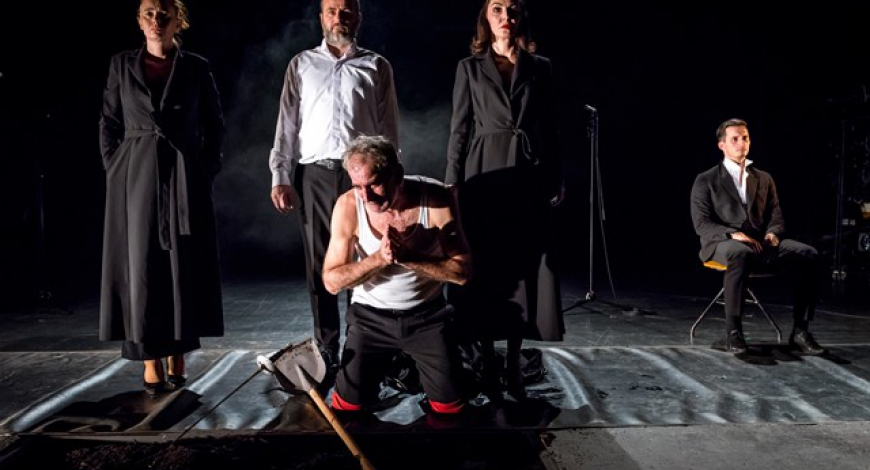 """""""King Lear"""" will be performed in the National Theater Sarajevo on Thursday, December 5th, at 19:30 with subtitles in English"""